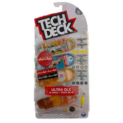 Tech Deck 4 Pack Chocolate