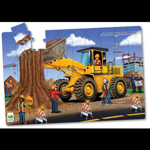 The Learning Journey Jumbo Floor Puzzle, Dirt Digger