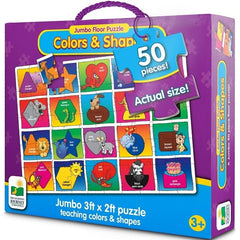 Colour and Shape Jumbo Floor Puzzle The Learning Journey