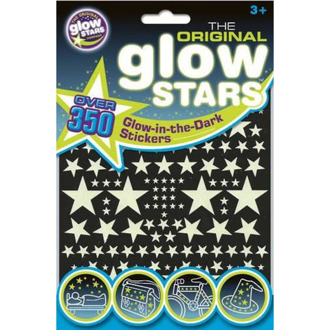 The Original Glow Stars 350 Stickers