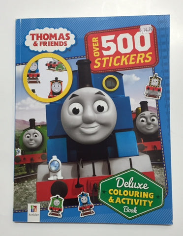 Thomas & Friends Deluxe Colouring & Activity Book