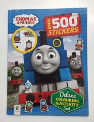 kidz-stuff-online - Thomas & Friends Deluxe Colouring & Activity Book