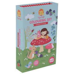 kidz-stuff-online - Tiger Tribe Colouring Set in a box - Forest Fairies