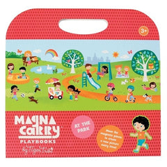 Tiger Tribe Magnetic Carry book - At the Park