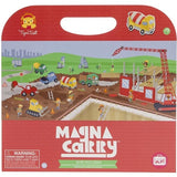 Tiger Tribe Magnetic Carry book Busy Builders