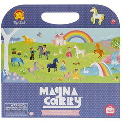 Tiger Tribe Magnetic Carry book Unicorn Kingdom