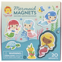 Tiger Tribe Mermaid Magnets