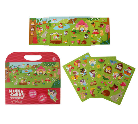 Tiger Tribe Magnetic Carry book - Forest Fairies