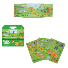 Tiger Tribe Magnetic Carry book  In the Jungle