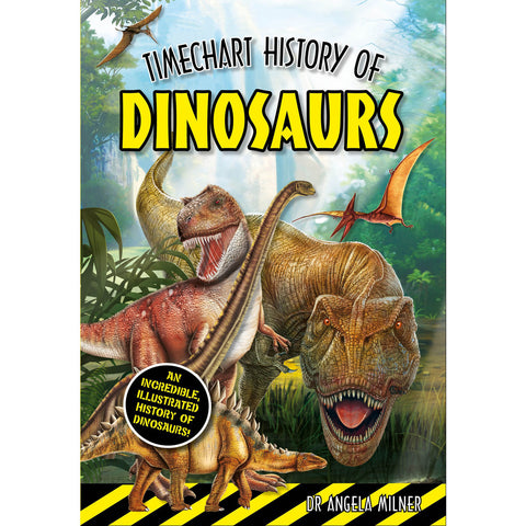 Timechart History of Dinosaurs