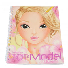 Top Model Create Your Make Up Sketch Book