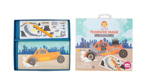 Tiger Tribe Transfer Magic - Create A Car
