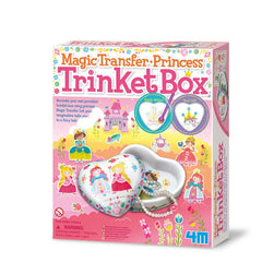Princess Transfer Trinket Box craft kit for girls by 4m craft