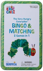 kidz-stuff-online - The Very Hungry Caterpillar Bingo & Matching Game Tin