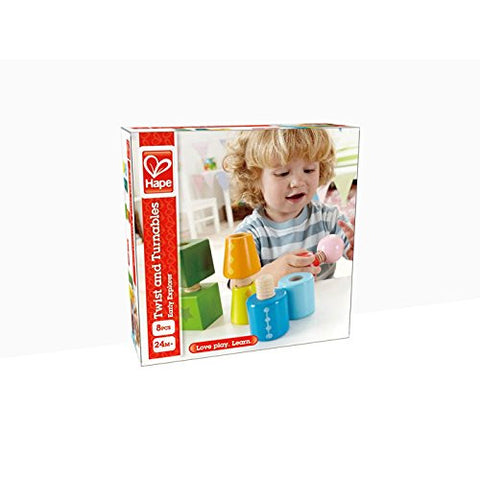 Wooden Twist and Turnables by Hape