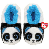 TY Slipper socks Bamboo Panda LARGE