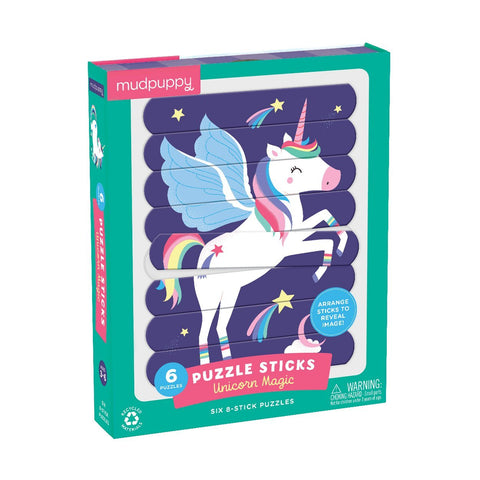 Unicorn Puzzle Sticks