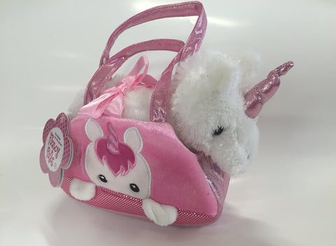 Fancy Pals Pet Carrier Peek a Boo Unicorn