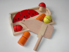 Wooden Food Playset