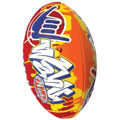 Wahu Rugby Ball Red & Orange