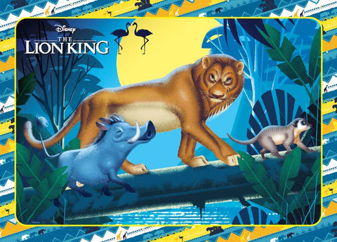 The Lion King Walk On The Wild Side Puzzle