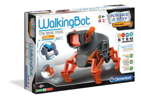 Walking Bot Science & Play Clementoni