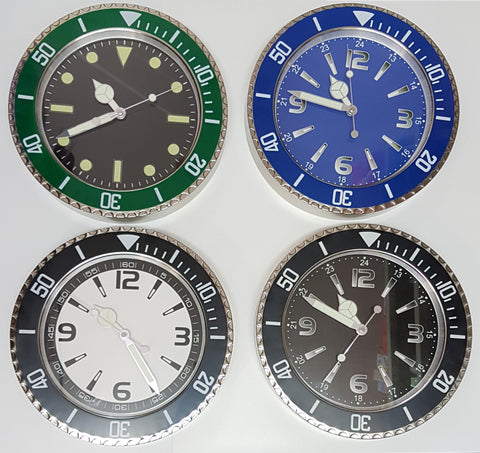 Metal Watch Wall Clock