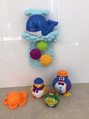 kidz-stuff-online - Whale Bath Toy Waterfall