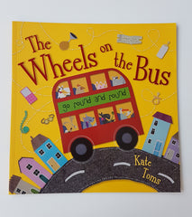 kidz-stuff-online - The Wheels on the Bus book