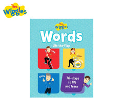 The Wiggles Words Lift the Flap Book