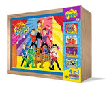 The Wiggles  4-in-1 Wooden Jigsaw Puzzle