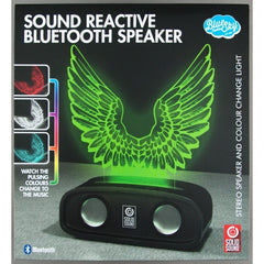 Sound Reactive Bluetooth Speaker Wings