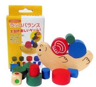 Wooden Seal Balance Toy
