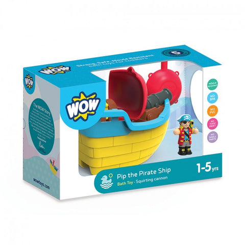 Pip Pirate Ship - Wow Toys