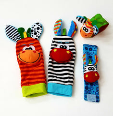 kidz-stuff-online - Wrist and Sock Rattles Set