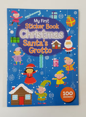 My First Sticker Book Chritmas Santa's Grotto
