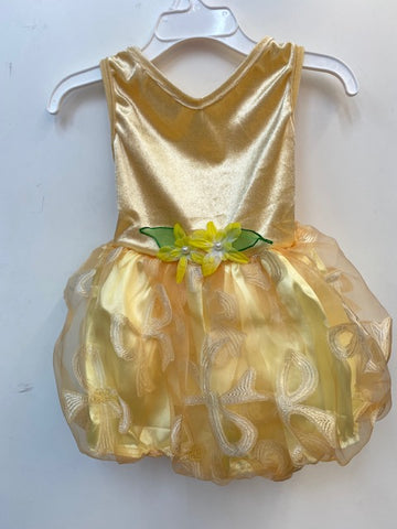 Party Dress Yellow 3-6mths