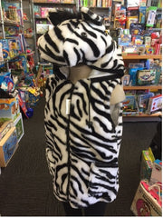 zebra vest dress up