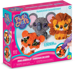 kidz-stuff-online - 3D Zoo Animals - plush craft