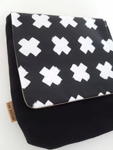 Black Crosses Kid's Bag LARGE