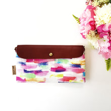 Brightly painted medium clutch