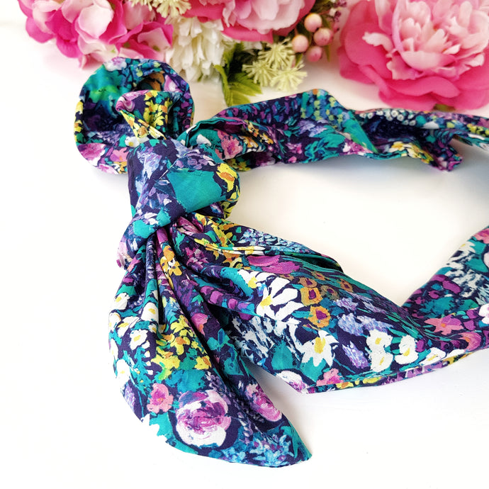 Liberty Painters garden headscarf