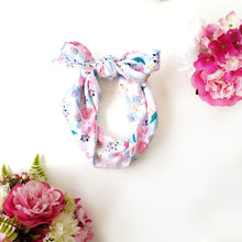 Pretty and sweet floral headscarf