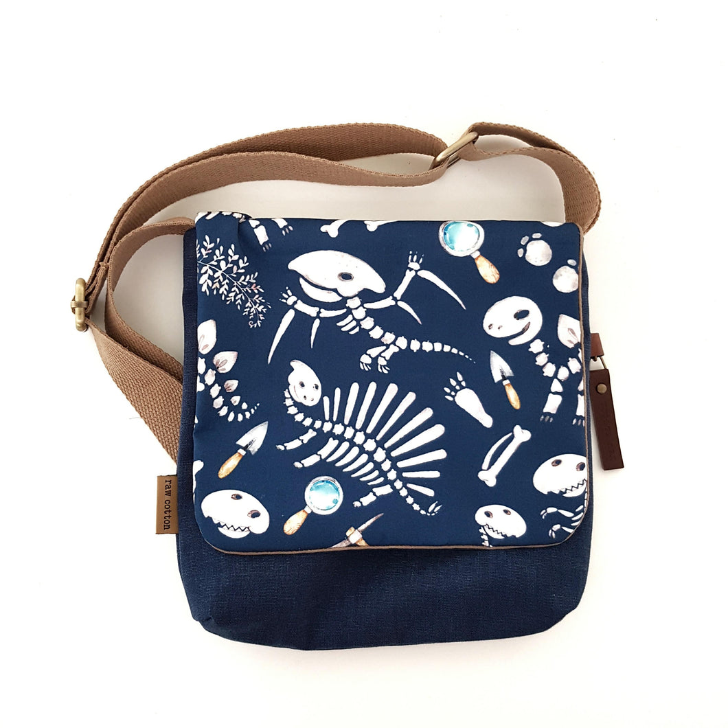 Blue Dinosaur kids bag SMALL