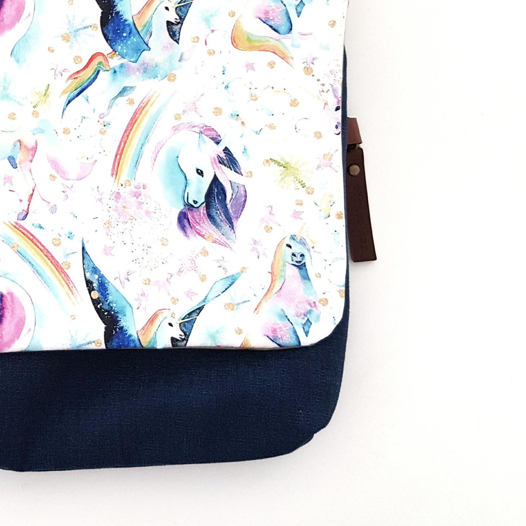Pastel unicorn kids bag SMALL