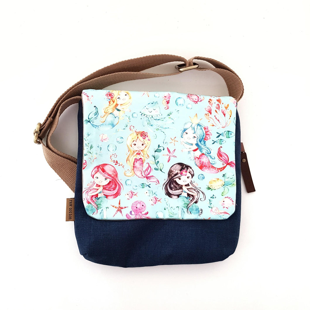 Ocean mermaid kids bag SMALL
