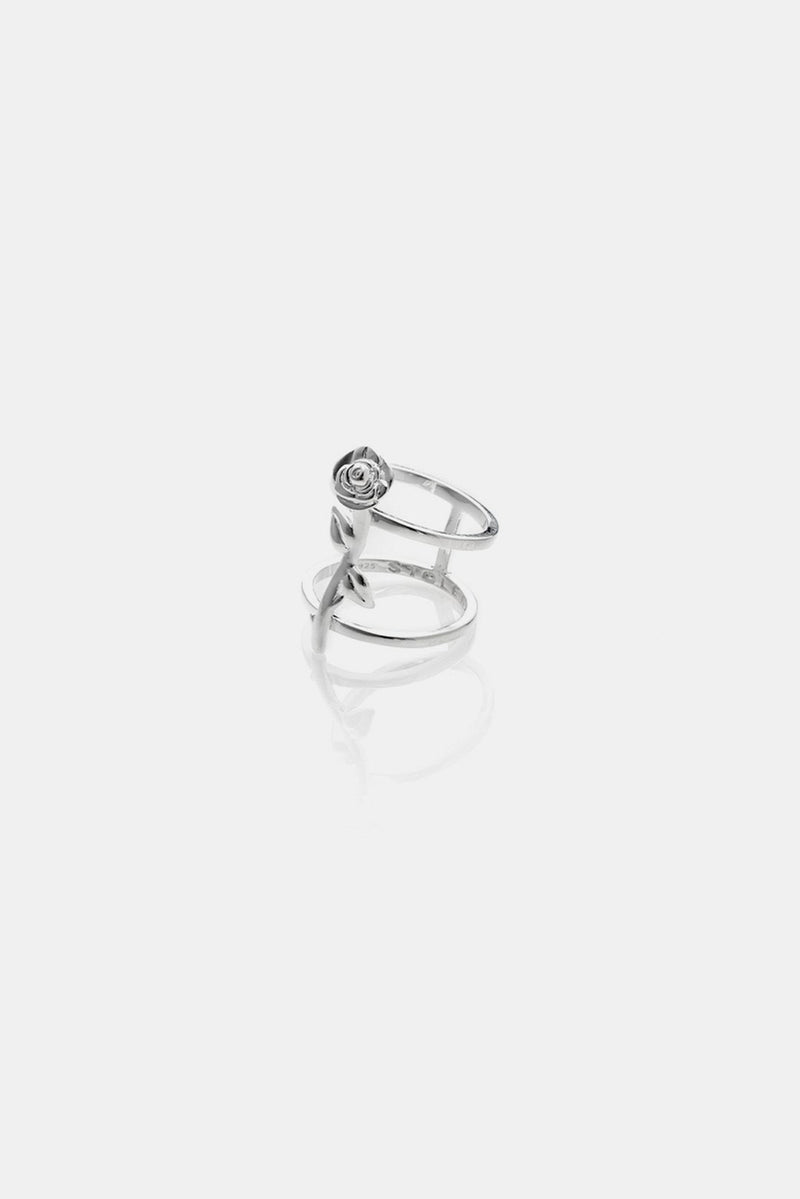 DOUBLE BAND ROSE RING