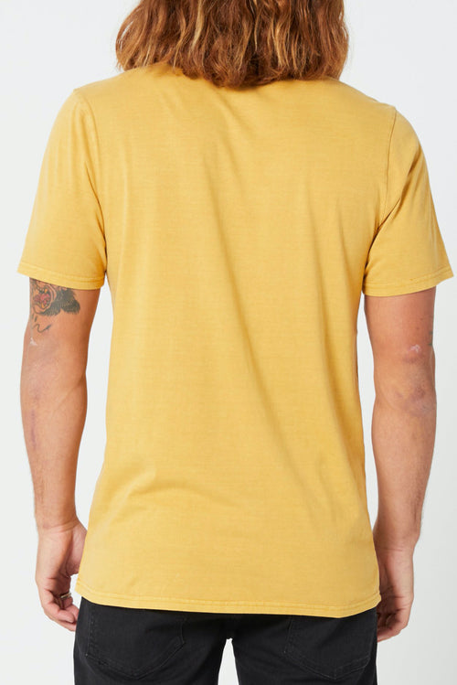 MENS WASH SOLID TEE (2FOR60)