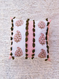 Pink Motif Cushion Cover