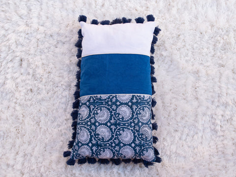 Shades of Blue Cushion (4366406975531)